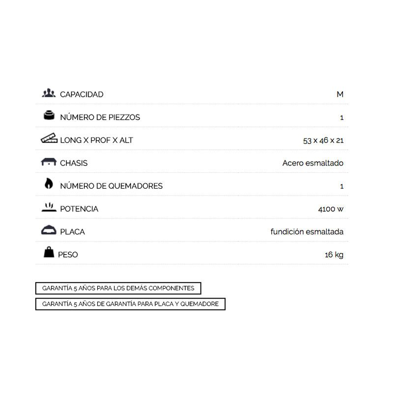 caracteristicas-plancha-Teide-450-esmaltada-ecobioebro