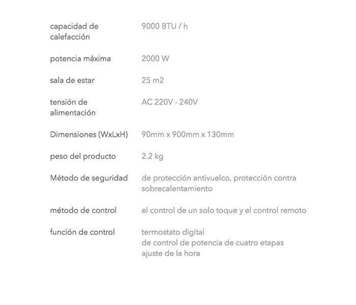 Caracteristicas-Calefactor-Veito-radiante-ecobioebro
