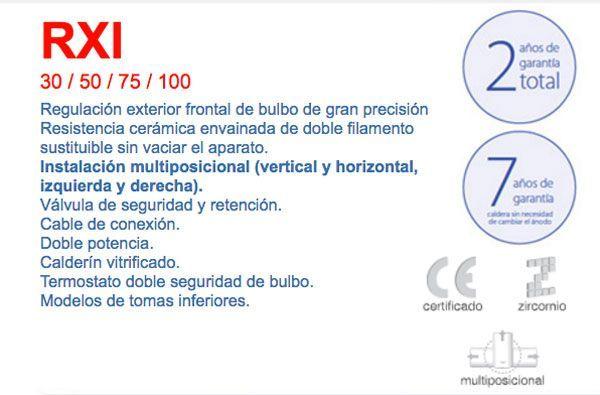 Caracteristicas-serie-RXI-termos-ecobioebro