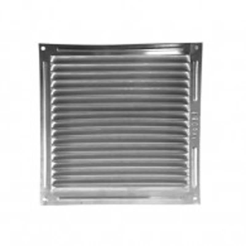 Rejilla aluminio plana 250x250 ecobioebro - Rejilla ventilacion aluminio ...