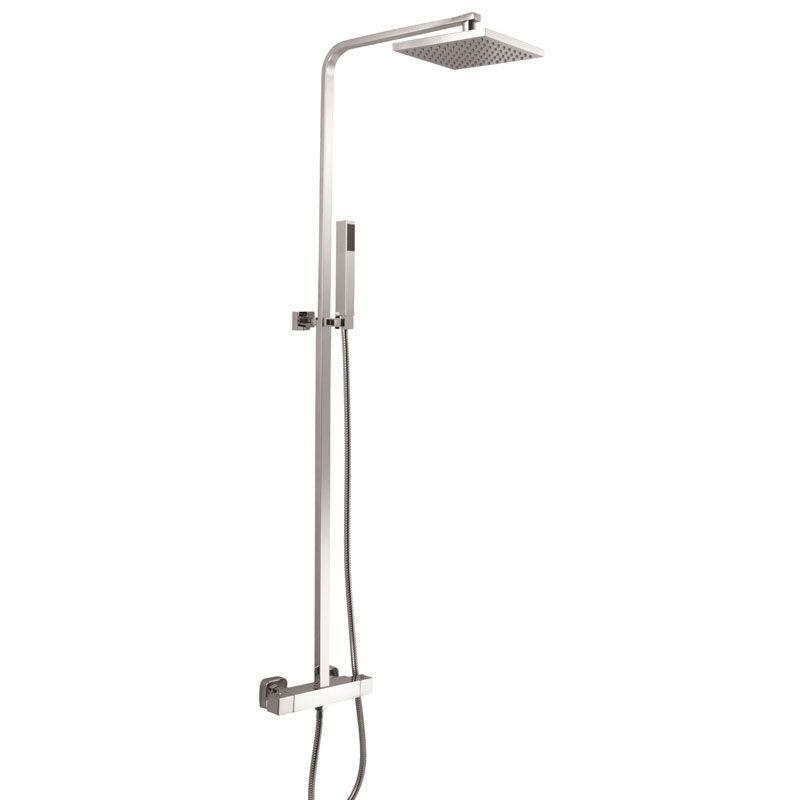 Columna de ducha termost tica vel zquez ecobioebro for Columna termostatica