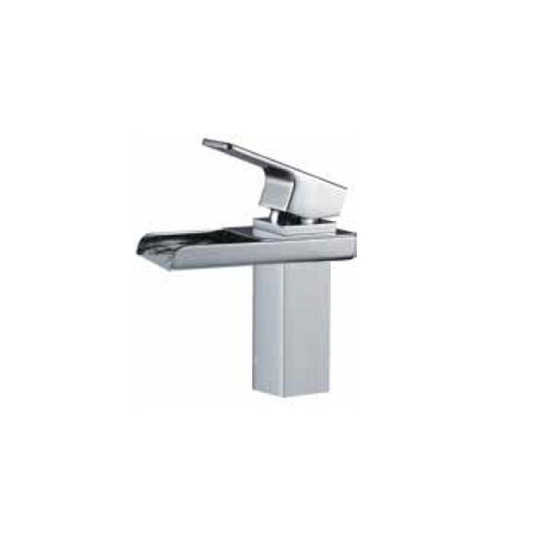 Monomando lavabo cascada cromo serie tizziano ecobioebro for Grifo lavabo cascada