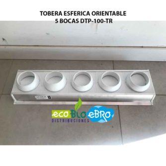 TOBERA-ESFERICA-ORIENTABLE-5-BOCAS-DTP-100-TR-ECOBIOEBRO