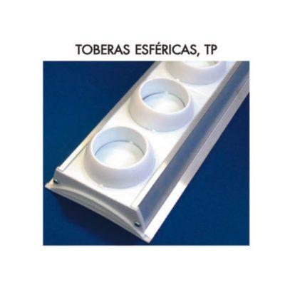 TOBERAS ESFÉRICAS ORIENTABLES