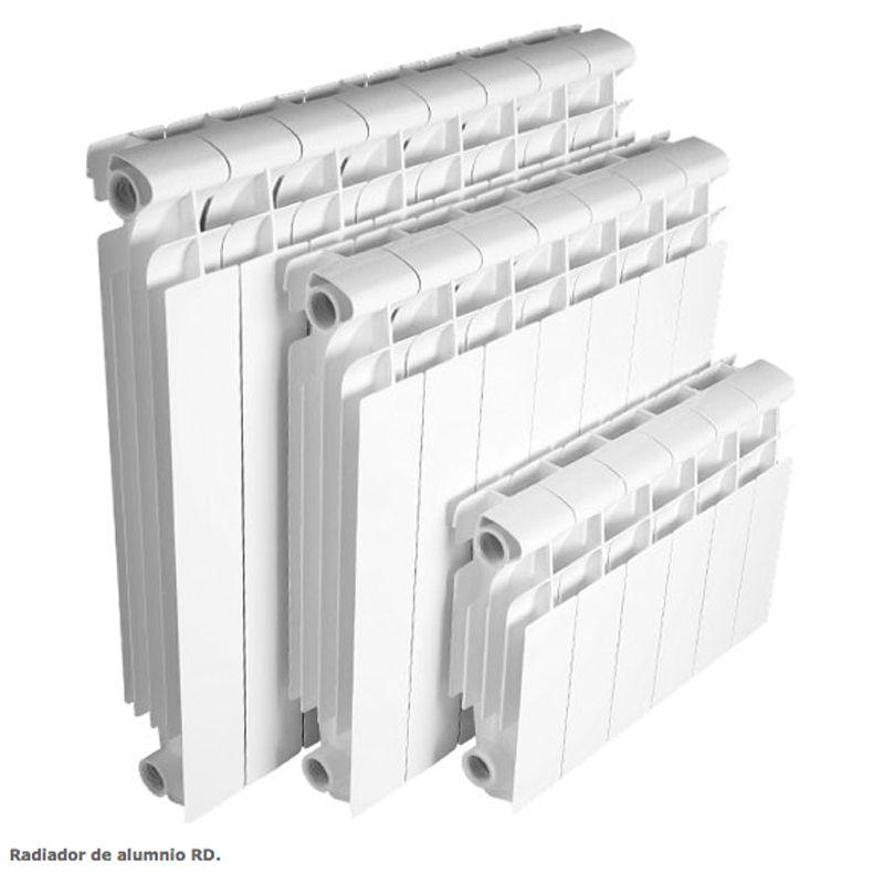 Radiador aluminio rd gran clase ecobioebro for Catalogo roca calefaccion