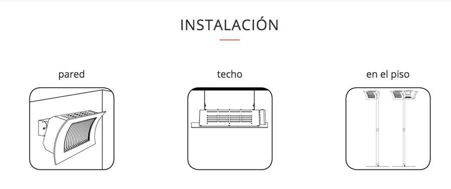 formas-de-instalacion-calefactor-Oasi-Radialight-Ecobioebro