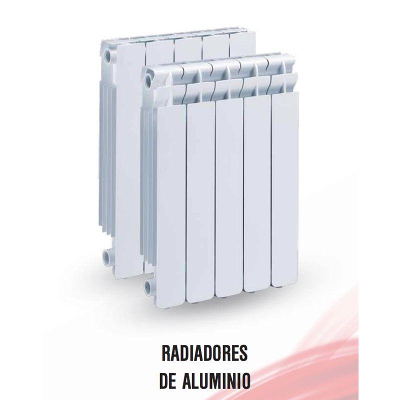 Radiador aluminio concept serie liso cerrado ecobioebro for Catalogo roca calefaccion