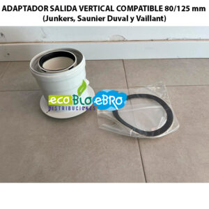 AMBIENTE ADAPTADOR-SALIDA-VERTICAL-COMPATIBLE-80125-mm-(Junkers,-Saunier-Duval-y-Vaillant) ecobioebro