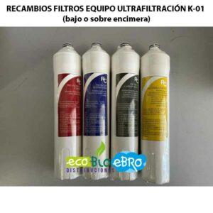 AMBIENTE-RECAMBIOS-FILTROS-EQUIPO-ULTRAFILTRACIÓN-K-01-(bajo-o-sobre-encimera)-ecobioebro