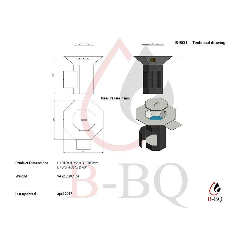 Dimensiones-BBQ-I-Barbacoa-Ocogonal-Bioblaze-Ecobioebro