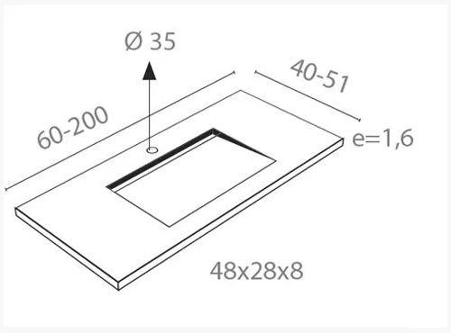 dimensiones encimera sin faldon style ecobioebro