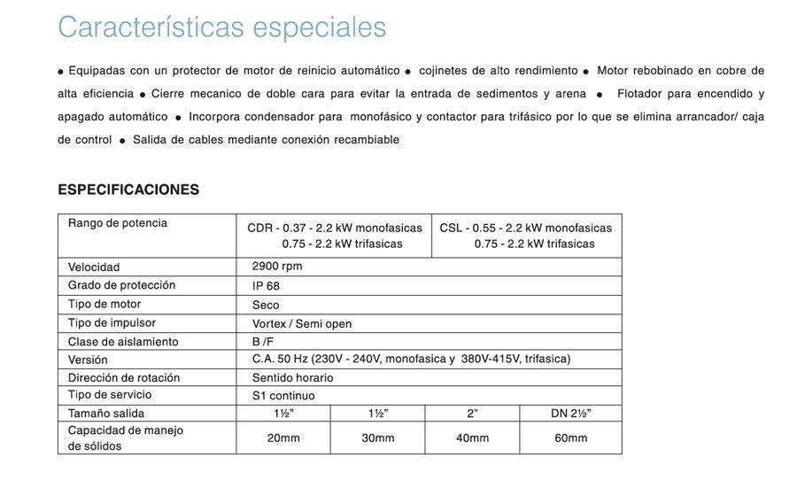 caracteristicas-bomba-serie-csl-ecobioebro