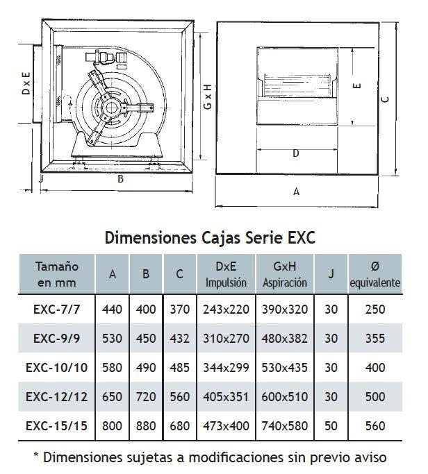 dimensiones-cajas-ventilacion-serie-EXC-ecobioebro