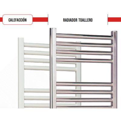 Radiadores toalleros for Radiador toallero cromado