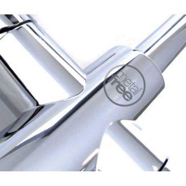 ¿Qué son los grifos de bajo residuo metálico MF (metal free)?