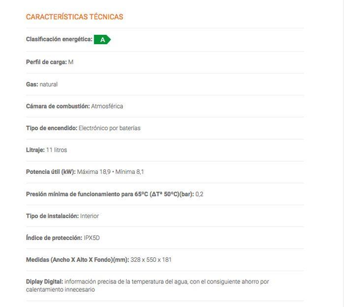 FICHA-TECNICA-CALENTADOR-COB11DN-ECOBIOEBRO