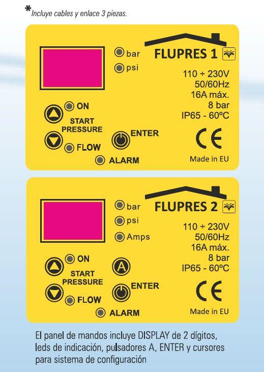 Nrpfell Controlador Electr/óNico El/éCtrico 220V Bomba de Agua Autom/áTica Interruptor de Presi/óN Encendido Apagado F/áCil de Operar para Mantener la Presi/óN y el Flujo