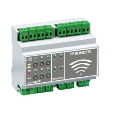 Receptor radio para 6 zonas (Zona 6 FR)