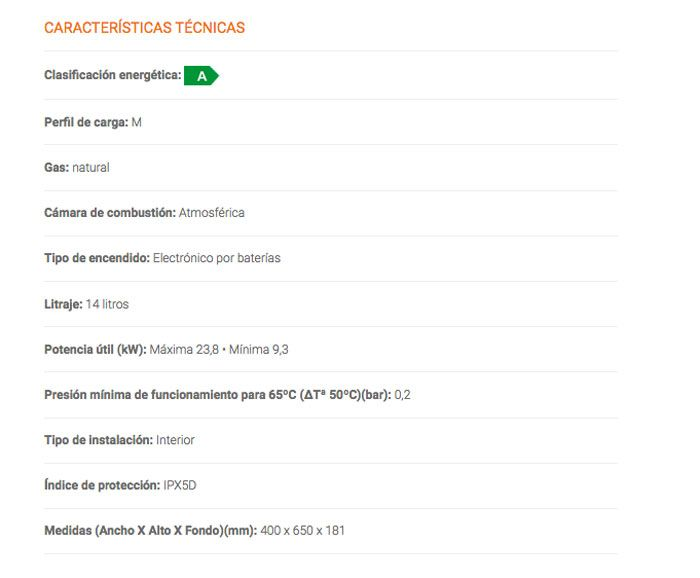 ficha-tecnica-calentador-cob14n-cointra-ecobioebro