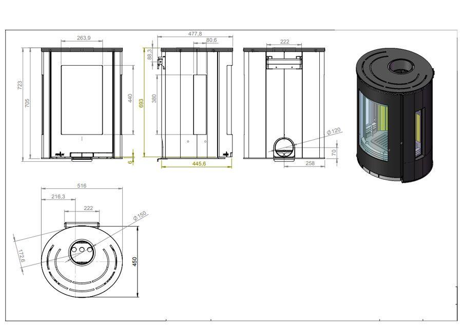 dimensiones-estufa-leña-elypse-suspendida-ecobioebro