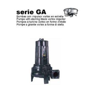BOMBA SUMERGIBLE PARA AGUAS RESIDUALES I-TECH (SERIE GA)