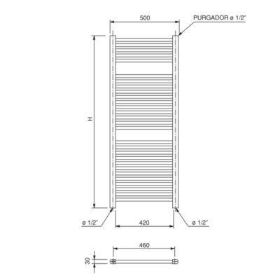 esquema-dimensiones-toallero-acero-talia-wf-ecobioebro