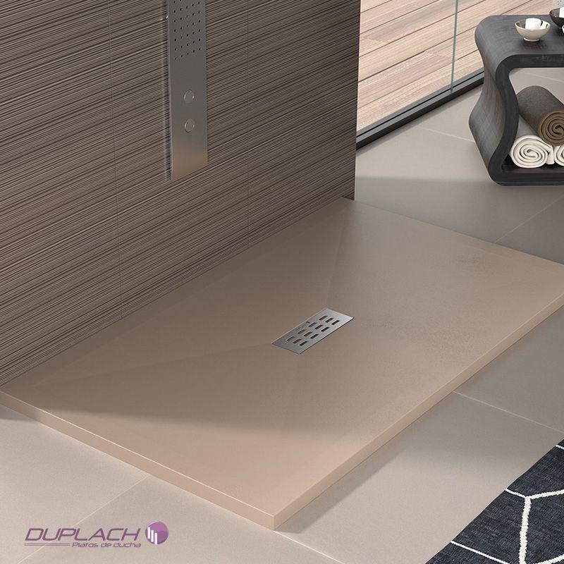 Plato de ducha sorty liso pizarra ecobioebro for Ofertas platos de ducha
