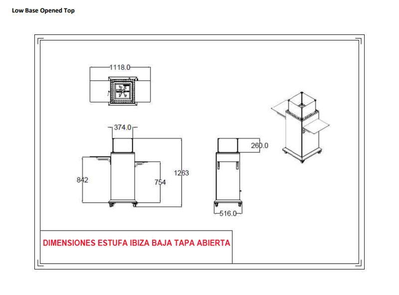 Dimensiones-estufa-ibiza-baja-tapa-abierta-ecobioebro