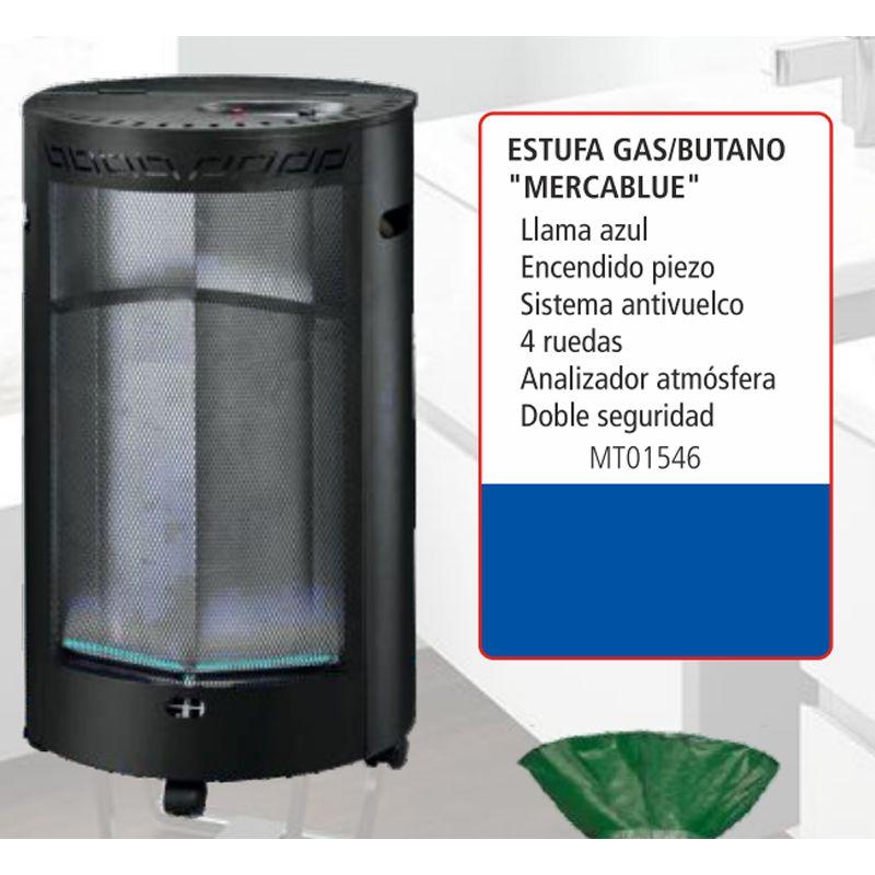 Estufas de gas butano interior estufa de piso abba rg - Estufa calor azul ...