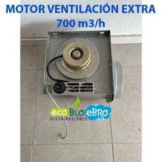 MOTOR-VENTILACIÓN-EXTRA 700 m3:h ecobioebro