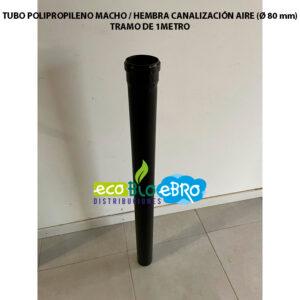 TUBO-POLIPROPILENO-MACHO---HEMBRA-CANALIZACIÓN-AIRE-(Ø-80-mm)-tramo-de-1-m-ecobioebro
