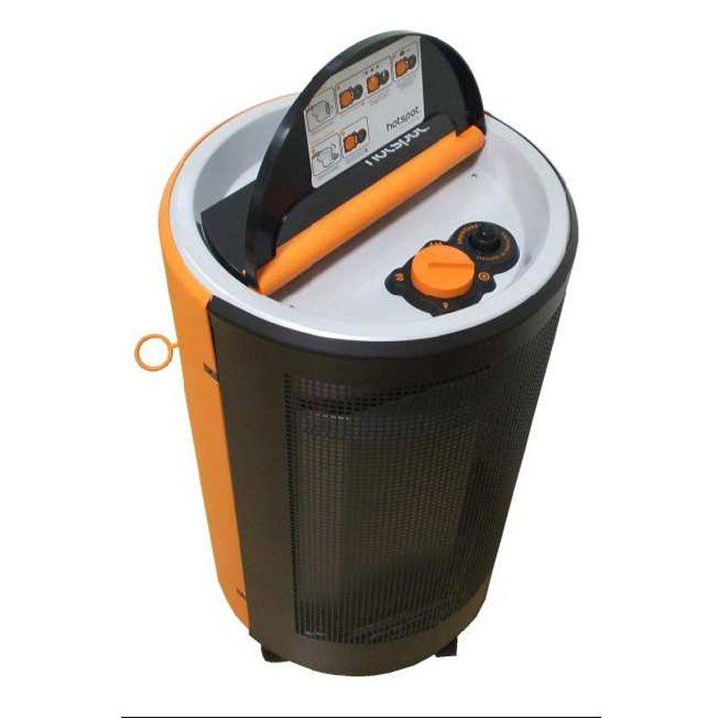Estufa interior a gas butano hotspot ecobioebro - Estufa de bombona ...