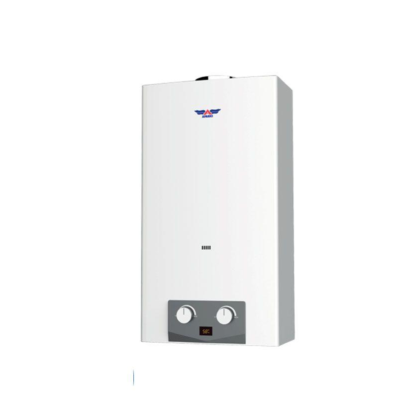 Calentador de gas serie ig 11 litros aparici ecobioebro - Calentador a gas ...