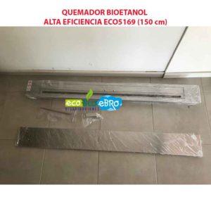 QUEMADOR BIOETANOL ALTA EFICIENCIA ECO5169 (150 cm) ecobioebro