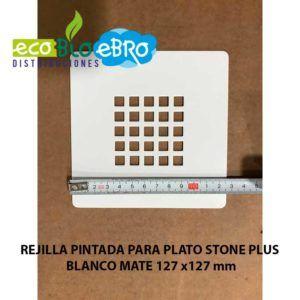 REJILLA-PINTADA-PARA-PLATO-STONE-PLUS-BLANCO-MATE-127X127-mm-ecobioebro