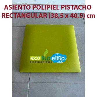 ASIENTO-POLIPIEL-PISTACHO-RECTANGULAR-(38,5-x-40,5)-CM ecobioebro