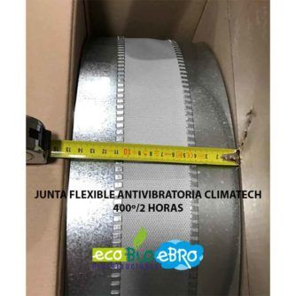 JUNTA FLEXIBLE ANTIVIBRATORIA CLIMATECH 400º:2 HORAS ECOBIOEBRO