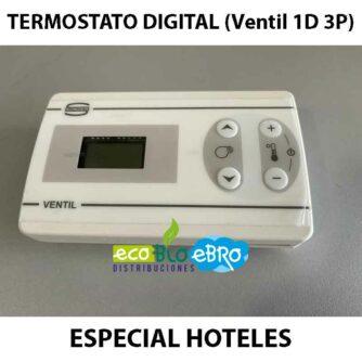 TERMOSTATO-DIGITAL-(Ventil-1D-3P)-ESPECIAL-HOTELES ecobioebro