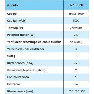 EVAPORATIVO PORTÁTIL COOLVENT (XZ13-050)