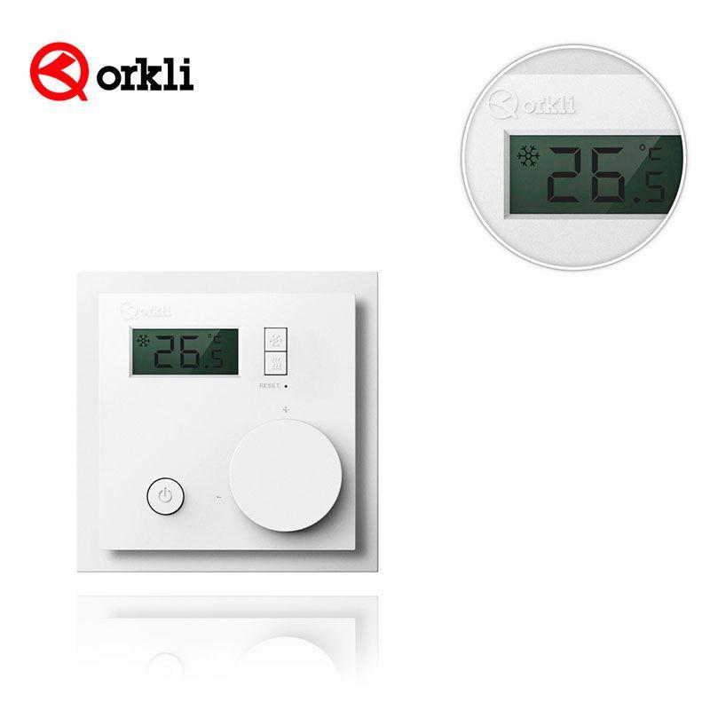 Termostato digital orkli invierno verano ra210 ebe - Temperatura calefaccion invierno ...