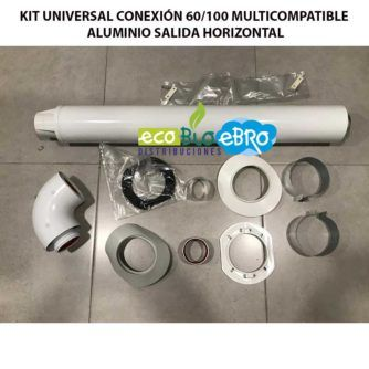 KIT-UNIVERSAL-CONEXIÓN-60100-MULTICOMPATIBLE-ALUMINIO-SALIDA-HORIZONTAL-ECOBIOEBRO