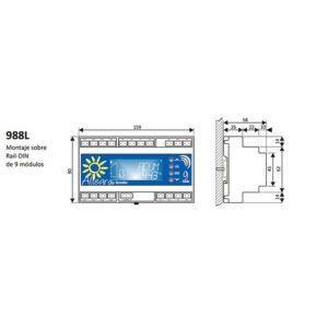 CONTROL SOLAR ALLEGRO 988L