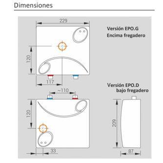 dimensiones-calentador-electrico-amicus-epo-ecobioebro
