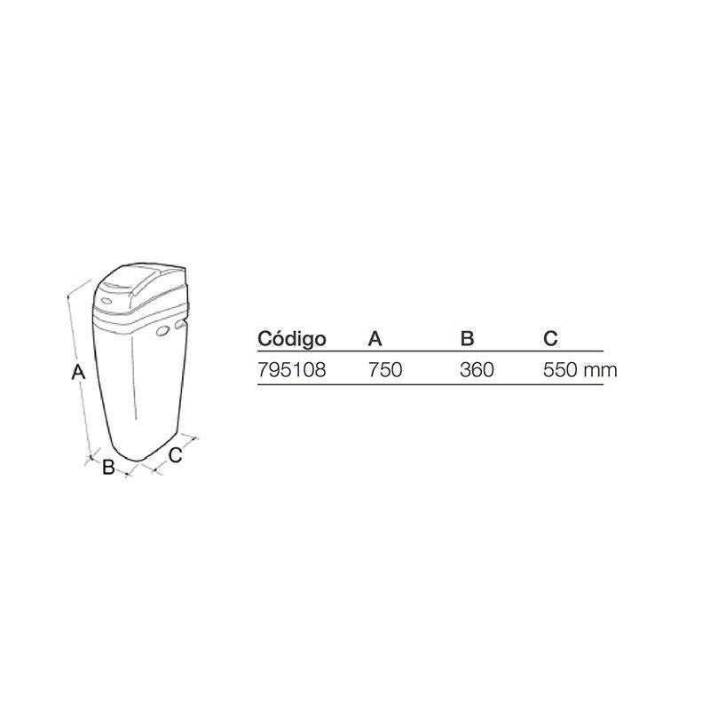 Descalcificador watermark 12 ecobioebro - Precios descalcificadores domesticos ...