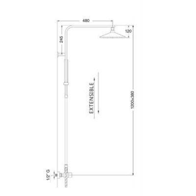 esquema-dimensiones-columna-termostatica-gaudi-ecobioebro