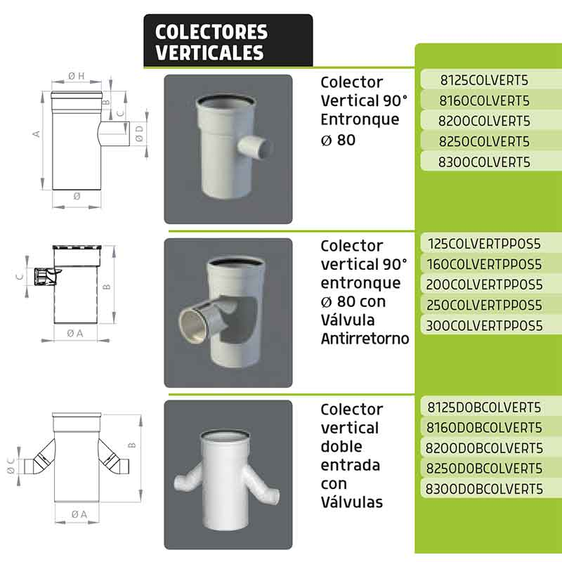 colectores-verticales-simple-cascda-biflujo-125,-160,-200,-250,-300-ecobioebro