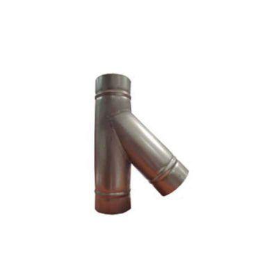 derivacion-galvanizada-45º-ecobioebro