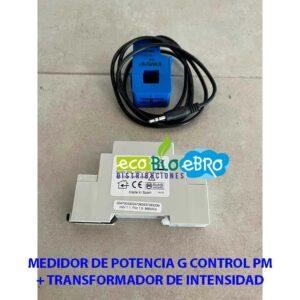 MEDIDOR-DE-POTENCIA-G-CONTROL-PM + TRANSFORMADOR DE INTENSIDAD ecobioebro