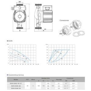 dimensiones-bombas-serie-EGHN-ecobioebro
