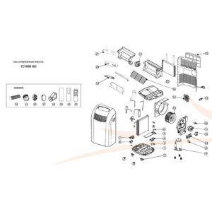 despiece-climatizador-FC-9000-MD-Ecobioebro